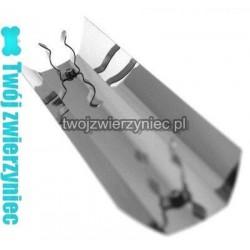 Odbłyśnik aluminiowy T8 18W 55 cm symetryczny