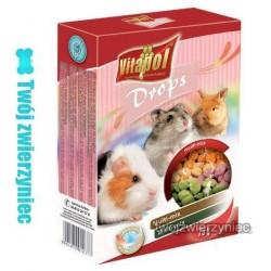 VITAPOL Dropsy jogurtowe dla gryzoni 75g