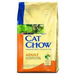 PURINA CAT CHOW Chicken & Turkey 15kg
