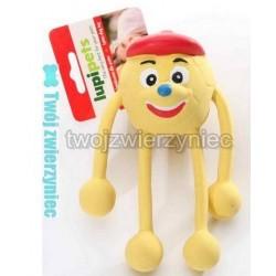 Ludzik żółty lateksowy 17cm