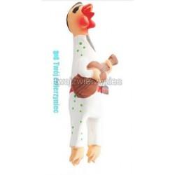 Kurczak z gitarą lateksowy 24cm