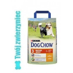 PURINA DOG CHOW Mature 5+lat z jagnięciną 2,5kg