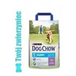 PURINA DOG CHOW Puppy z jagnięciną 2,5kg