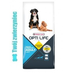 OPTI LIFE Adult Light Medium & Maxi 12,5kg