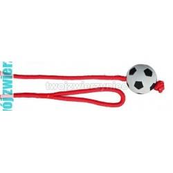 TRIXIE Zabawka dla psa futbolówka 6cm na długiej lince