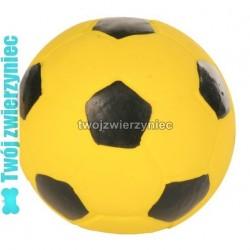 TRIXIE Żółta futbolówka lateksowa 11cm