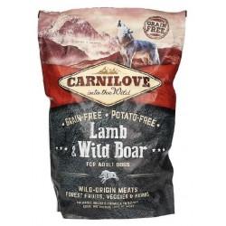 BRIT CARNILOVE jagnięcina z dzikiem 1,5kg