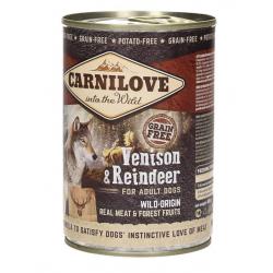 BRIT Carnilove Wild Meat jeleń, renifer 400g