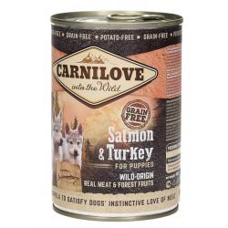 BRIT Carnilove Wild Meat Puppy łosoś, indyk 400g