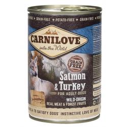 BRIT Carnilove Wild Meat łosoś, indyk 400g