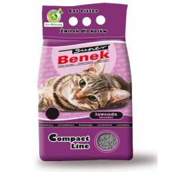 BENEK Żwirek Compact  lawenda 3x10l + dostawa