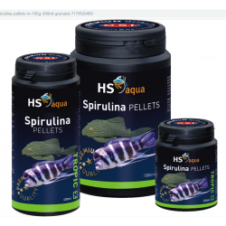 O.S.I. Spirulina Pellets medium