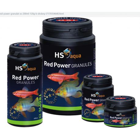 HS / O.S.I. Red power granules XS 100ml