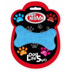 PET NOVA Zabawka dla psa - kość 10,5cm aromat wołowiny