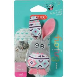 ZOLUX Zabawka dla kota KALI królik kol szary