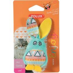 ZOLUX Zabawka dla kota KALI królik kol zielony