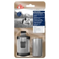 8in1 Poop Patrol Dispenser & Pet Waste Bags