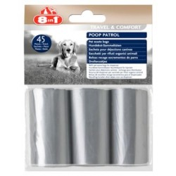 8in1 Poop Patrol Pet Waste Bags Refill - 3 rolki