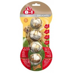 8in1 Delights Balls S - 4 szt.