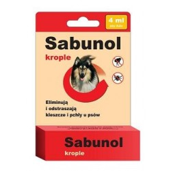 DERMAPHARM Sabunol Krople 4 ml