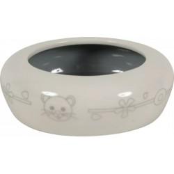 ZOLUX Miska ceramiczna dla gryzonia 100 ml kol beżowyszary