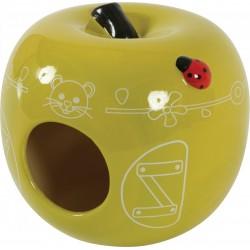 *- Domek ceramiczny Jabłko kol seledynowy