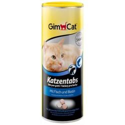 GIMCAT KATZENTABS FISCH tabletki dla kotów z rybą 710szt